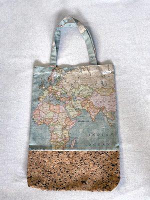 Tasche mit Korkleder